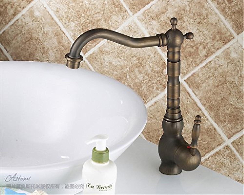 Bijjaladeva Wasserhahn Bad Wasserfall Mischbatterie WaschbeckenKomplette Küche Wasserhahn Kupfer Waschbecken mit Warmen und Kalten Armaturen Waschbecken zur Verfügung zu Drehen.