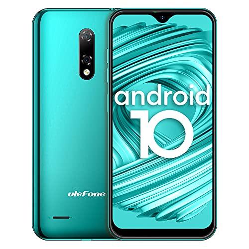 Cellulari 4G, Ulefone Note 8P Smartphone 16GB ROM 2GB RAM, 5,5  FW+ Schermo Waterdrop, con Doppia SIM e Riconoscimento Facciale, GPS, Android 10-Verde