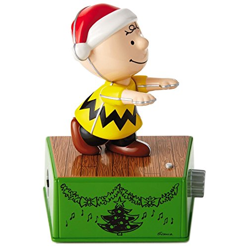 Hallmark Peanuts Charlie Brown Christmas Dance Party Figurine