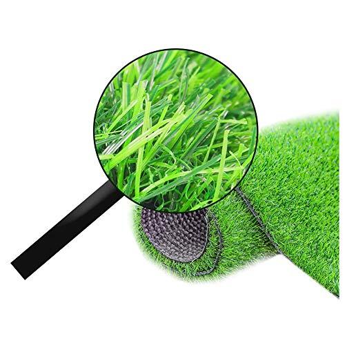 GFSD Kunstgras Turf Lawn, Sportvloeren | UV-bestendig | Binnen/Buiten Groen Kunstgras, Tuintapijt Deurmat (Color : Green3.5cm, Size : 2x1m)