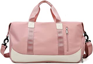 Fayruz Large Yoga Bag Tote Sling Bag Gym Duffel Fitness Bag with Shoe Compartment for Womens