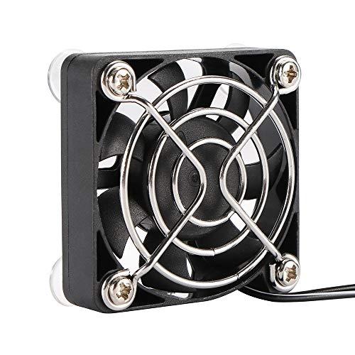 YASEking Portátil Mini USB Powered DC 5V Computadora sin escobillas CPU Fregadero de Calor Ventilador de enfriamiento Calefacción y refrigeración Fan Auxiliar