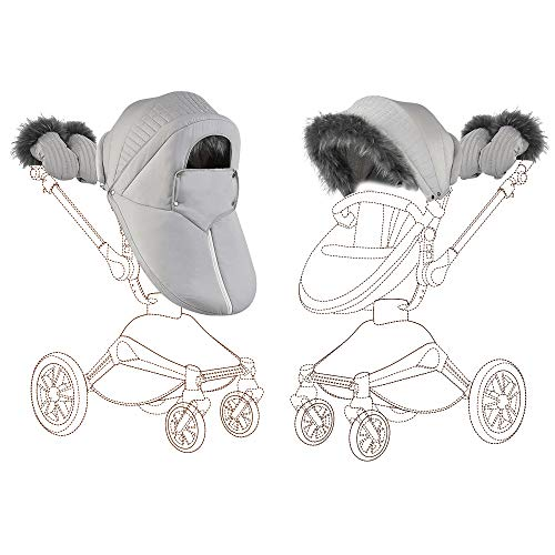 Hot Mom Kinderwagen zubehör für 360 Derhbar Kinderwagen F023 (Winter Outfit)