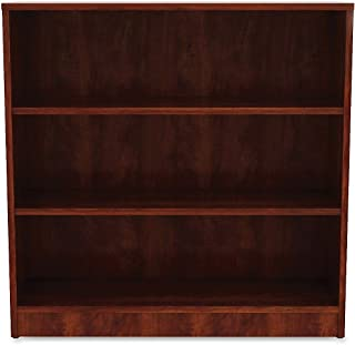 Lorell Cherry Laminate Bookcase Book Rack, 36 x 36 x 12