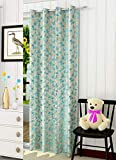 Fresh From Loom Darkening Polyester Jacquard Curtain for Window 5 Feet Blackout Jute