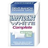 5 estuches de goma para masar Happy White completos sin azúcar paquete