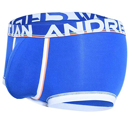 Andrew Christian Herren Boxershorts CoolFlex MODAL Active Boxer W/Show-IT 91500, blau S