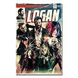 Suuyar 2017 Logan Wolverine 3 X Men Hot Movie Poster and Prints Wall Art Print On Canvas for Living Room Home Bedroom-24X32 Inchx1 Frameless