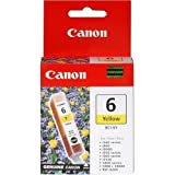 Canon BCI-6 Yellow Ink Tank Compatible to iP8500, iP6000D, iP5000, iP4000R, iP4000, iP3000, i9900, i9100, i960, i950, i900D, i860, S9000, S900, MP780, MP760, MP750, i560, S830D, S820D, S820, S800, BJC 8200