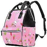 Wickeltasche Rucksack, groß, Unisex, Baby-Wickeltasche mit Wickelunterlage, Reisetasche, multifunktional, wasserdicht und langlebig für Mama und Papa