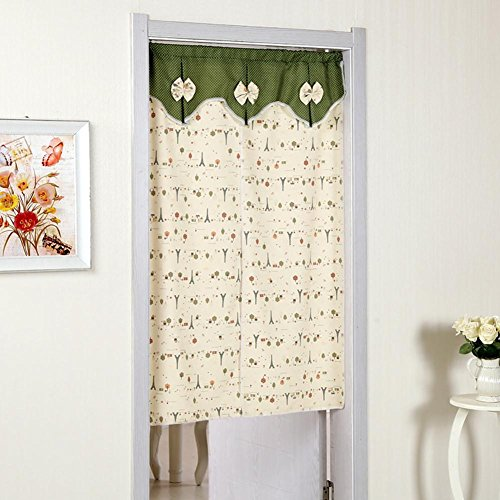 Porte Rideaux Tissu Polyester Double ouverte Anti-moustique Couper Voile Simple , 002 , 90*140cm
