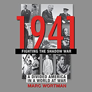 1941: Fighting the Shadow War audiobook cover art