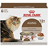 Royal Canin Aging 12+ Thin Slices in Gravy Variety Pack Wet Cat Food, 3 oz., Count of 6