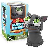 IPIDIPI TOYS Flippy Kitten Eye Popping Cat - Squishy Squeeze Toy for Stress Reduction - Gag Stocking...