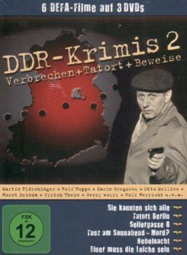 DDR-Krimis 2 - ( 6 Filme - 3 DVDs / Sie kannten sich alle - Tatort Berlin - Seilergasse 8 - Tanz am Sonnaben... Mord ? - Nebelnacht - Einer muß die Leiche sein )