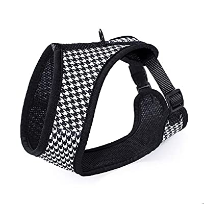 Mile High Life Dog & Cat | Fit Easy Vest Harness | No Choke Pull Step-in | Breathable Soft Mesh | Comfort Padding Puppy Training Halter