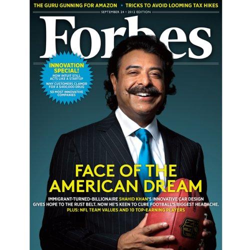 Forbes, September 10, 2012 audiobook cover art
