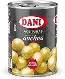 Dani - Aceitunas (Extra Grandes) rellenas de Anchoa 350 gr.
