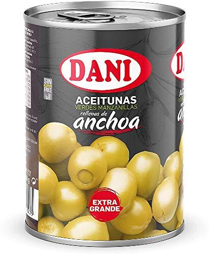 Dani Oliven gefüllt mit Sardellen, 350 g