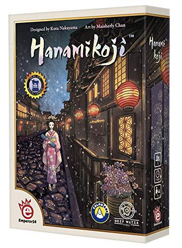 Asmodee EMPHAN01 Hanamikoji, Multicolor