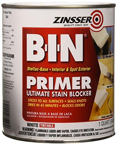 Zinsser 00904 B-I-N Pigmented Shellac Primer-Sealer &...