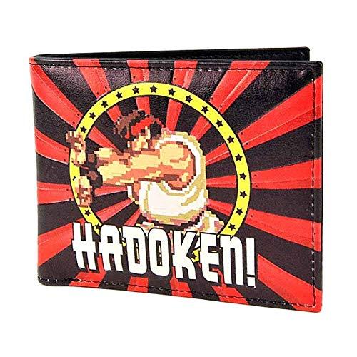 Genuine Capcom Street Fighter Hadoken Bi-Fold Wallet Ryu Gaming