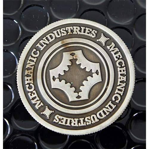 SOLOMAGIA Half Dollar Coin (Gun Metal Grey) by Mechanic Industries - Magie mit Tuch - Zaubertricks und Magie