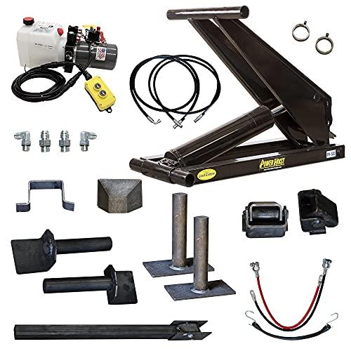 10 Ton (20,000 lb) Dump Trailer Hydraulic Scissor Hoist Standard Kit - Power Hoist 520