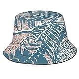 AOOEDM Esqueleto en la Boca del tiburón Hombres Mujeres Sombrero para el Sol Sombrero de Pescador Protección UV Senderismo al Aire Libre Pesca Gorra...