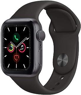 Apple Watch Kordon 1 2 3 4 5 Seri 38mm-40mm Silikon Kayış Siyah