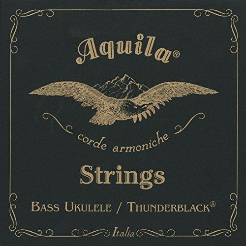 Aquila 140U ThunderBlack - Set Di Corde Per Bass Ukulele