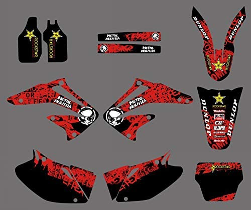 KINWAT Graphics Backgrounds supreme Ranking TOP14 Decals Stickers Honda CRF Kits for