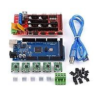 RepRapシールド、耐久性のあるA4988ドライバー、プロジェクト作業用の実用的なUSBCalbeジャンパーキットモーター制御3Dプリンターキット学校教育