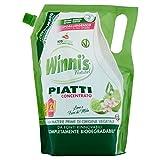 Winni's Naturel Detergente Piatti Concentrato Ecoricarica Lime - 1050 g...