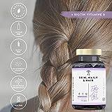 Zoom IMG-1 capelli pelle unghie biotina vitamine