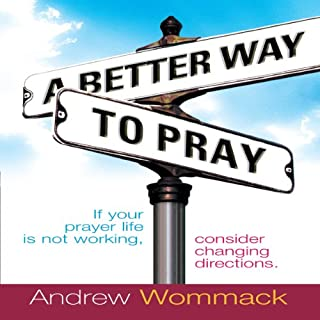 A Better Way to Pray audiobook cover art