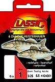 Paladin CLASSIC Zander-Meisterhaken gebunden 6 Stk. Gr. 1/0