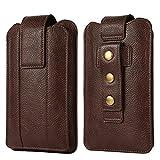 Sac de protection Holster de téléphone cellulaire double couche pour iPhone 12 Pro Max, XS Max, 6s...
