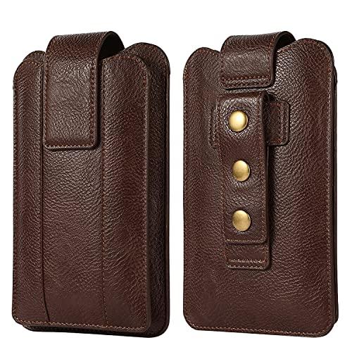 SZCINSEN Funda para teléfono celular de doble capa para iPhone 12 Pro Max, funda ajustable para cinturón para Galaxy S21 Ultra 5G