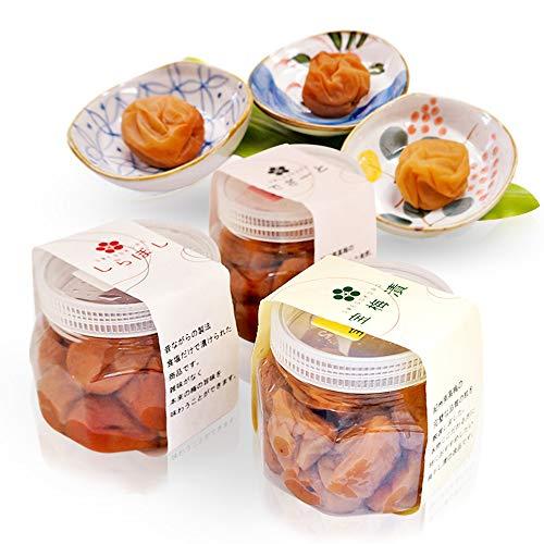 紀州南高梅 高級 梅干し うめぼし 3種類 味くらべセット 宝梅漬 しらぼし でざーと ギフト 600g 銀座宝梅