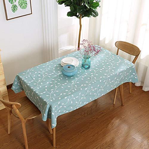 Dthlay tafelkleden rechthoekig vegen schoon landelijke stijl linnen tafelkleed geborduurd salontafel tafelkleed