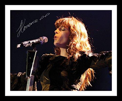 Florence & The Machine Signiert und gerahmt Foto