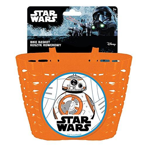 Disney Jungen Star Wars Fahrradkorb, Mehrfarbig, S