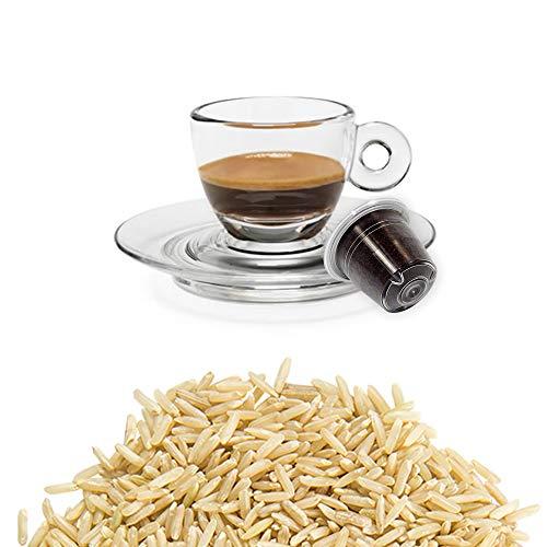 50 Kapseln Nespresso Kaffee Kompatibel Gerstenkaffee - Hergestellt in Italien - Kickkick Kaffee
