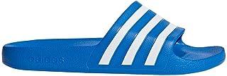 adidas(アディダス) 92 アディレッタAQUA サンダル トゥルーブルーS19×ランニングホワイト×トゥルーブルーS19 F35541