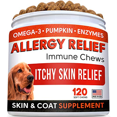 Top 10 best selling list for supplements for itchy skin in dogs