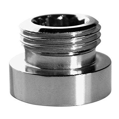 Metalladapter Reduktion für Wasserhahnhahn 24mm Buchse auf 1/2