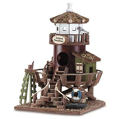 Beach Themed Bird Cottage Birdhouses
