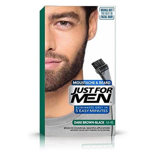 JUST FOR MEN Brush-In-Color-Gel Schwarzbraun 28.4 ml