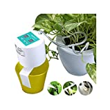 Elitlife [2019 Update] DIY Micro Automatic Drip Irrigation Kit, Self Watering System with Timer and USB Charging Cable, 30-Day Programmable Water Timer for 15 Pots Flowers